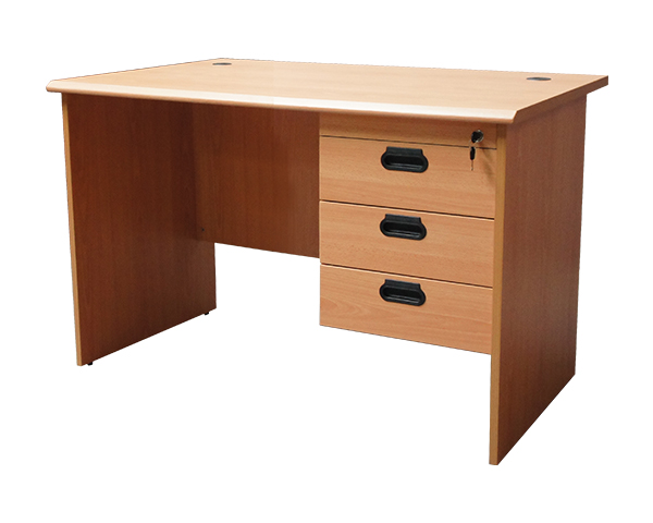 MOF-BE-120+H3-Office-Desk-Beige