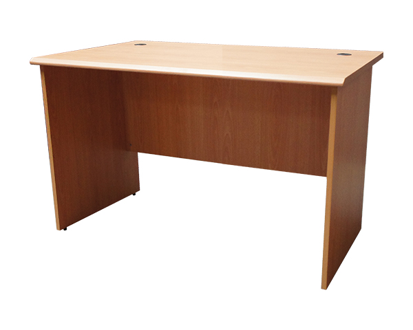 MOF-BE-120-Plain-Office-Table-Beige